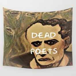Baudelaire, Dead Poets Art Wall Tapestry