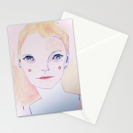 Mia Farrow Stationery Cards