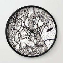 Rare Bird Wall Clock