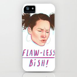 flaw-less bish iPhone Case