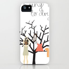 Hung up to dry... iPhone Case