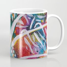 Leaves on the World Tree: Beti-Pahuin Dura Palm Coffee Mug