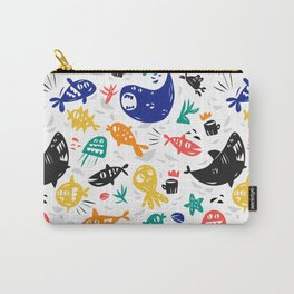 Sea characters Carry-All Pouch