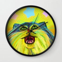 Pallas Cat Wall Clock
