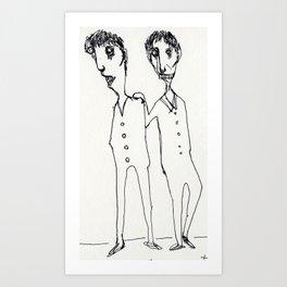 FRIENDS_SERIES_1 Art Print