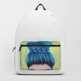 Blue Hair Backpack