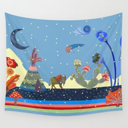 At night Wall Tapestry