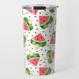 Watermelon Ice cream Travel Mug