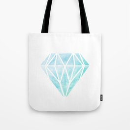 Diamond watercolour Tote Bag