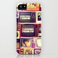 Everything I Know iPhone (5, 5s) Slim Case