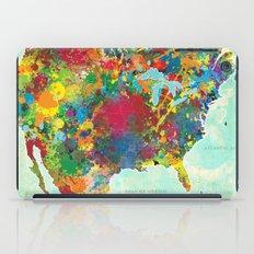 United States Map iPad Case