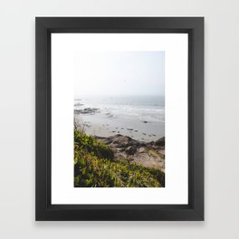 Coast + Fog Framed Art Print