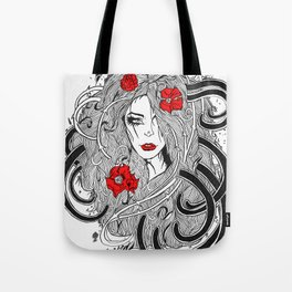 Rose. Tote Bag