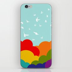 Up, Up, and Away! iPhone Skin