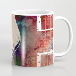 Guitar art 5 #guitar #music Coffee Mug