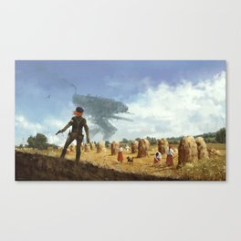 1920 - iron harvest Canvas Print