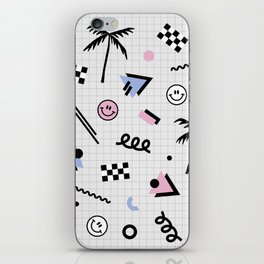 Smiley faces all day iPhone Skin