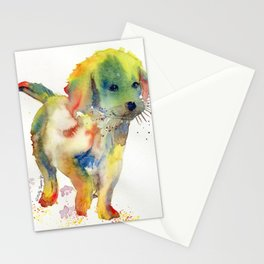 Colorful Puppy - Little Friend Stationery Cards
