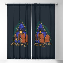 Forest and Chill Blackout Curtain