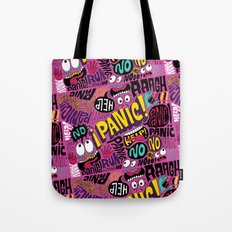Panic Pattern Tote Bag