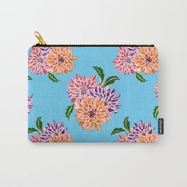 Modern Dahlia Carry-All Pouch