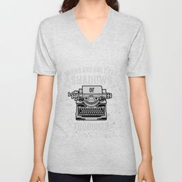 Shadows Of Thoughts Unisex V-Neck