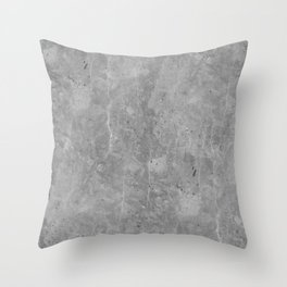 Simply Concrete II Throw Pillow