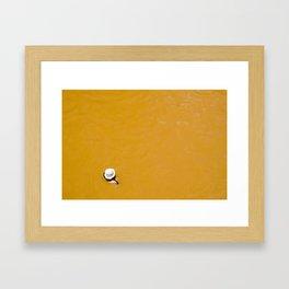 Banos Morales, Chile Framed Art Print