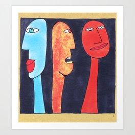 - threesome #2 - Art Print