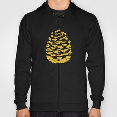Pinecone Mustard Yellow Hoody