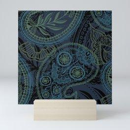 Paisley and Undines Mini Art Print
