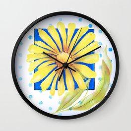 Huge Yellow Daisey Wall Clock