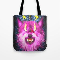 Eye Of The Wolf Tote Bag