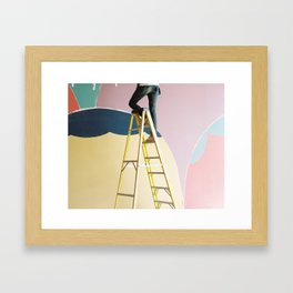 The Painter Framed Art Print