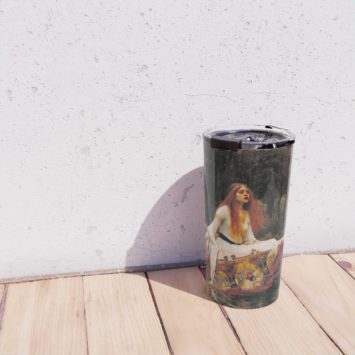 The Lady of Shalott Travel Mug