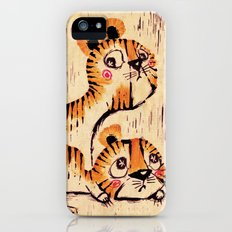 Two Little Tigers iPhone (5, 5s) Slim Case