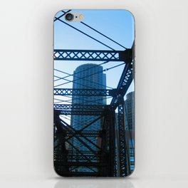 Bridge to nowhere  iPhone Skin