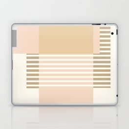 Marfa Abstract Geometric Print in Beige Laptop & iPad Skin
