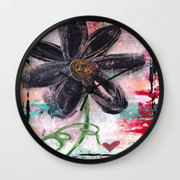 GARDEN OF WHIMSY 1 Wall Clock