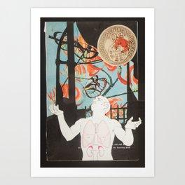 Hands in the Sky Art Print