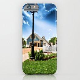 Avonlea Village Under A Dramatic Sky iPhone Case