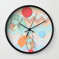 insect Wall Clocks featuring Insect VI by dogooder
