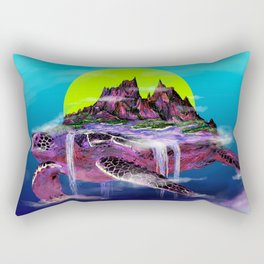 Turtle Paradise Rectangular Pillow