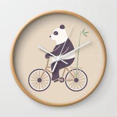My Bamboo Bicycle Wall Clock