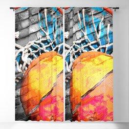 Basketball art swoosh vs 20 Blackout Curtain