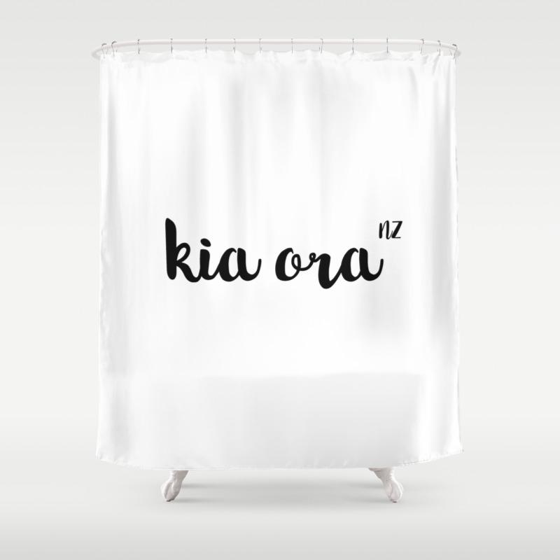 Kia Ora Nz Shower Curtain