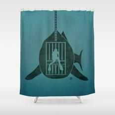 Steven Spielberg's JAWS Shower Curtain