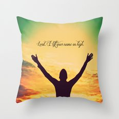 On High Throw Pillow