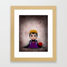 Villain Kids, Series 1 - Evil Queen Framed Art Print