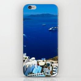 Santorini Caldera iPhone Skin